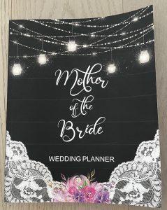 Mother of the bride wedding planner book